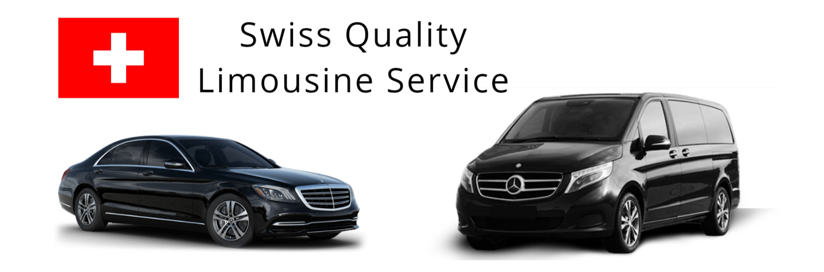 business e class sedan and a family van by mercedes in black