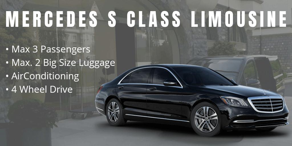 luxury first class limousine mercedes benz s class