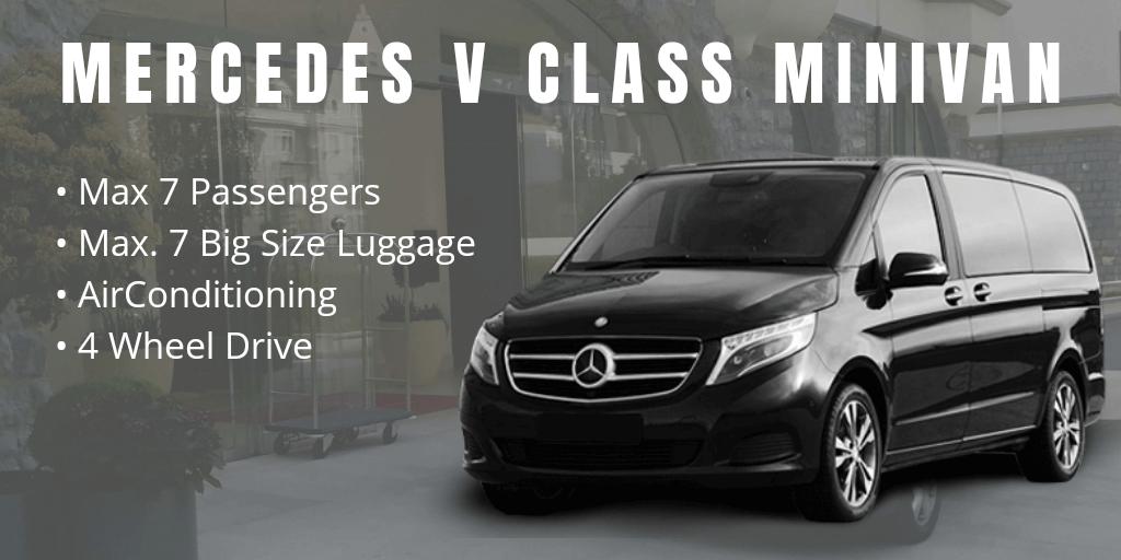 corporate executive van mercedes v class