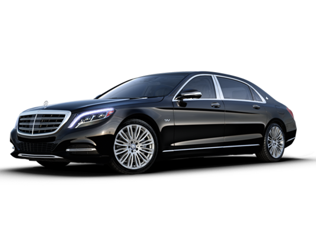 mercedes s class limousine in black with 4 wheel drive